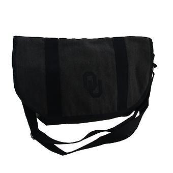 Grå bomull University of Oklahoma Sooners Messenger Bag