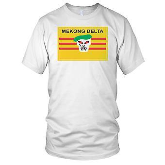 Mekong Delta Green Beret Special Forces - Vietnam War Clean Effect Mens T Shirt