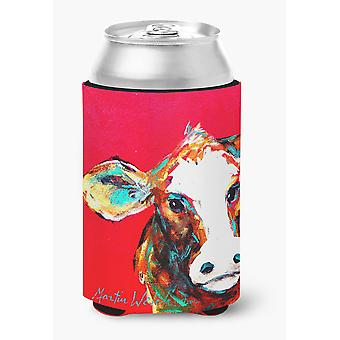 Cow Caught Red Handed Can or Bottle Beverage Insulator Hugger