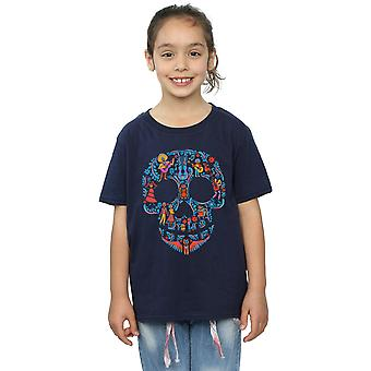 Disney Girls Coco cranio modello t-shirt