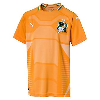 2018-2019 Ivory Coast Home Puma Football Shirt (Kids)