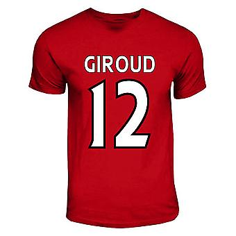 Olivier Giroud Arsenal Hero T-shirt (rosso)