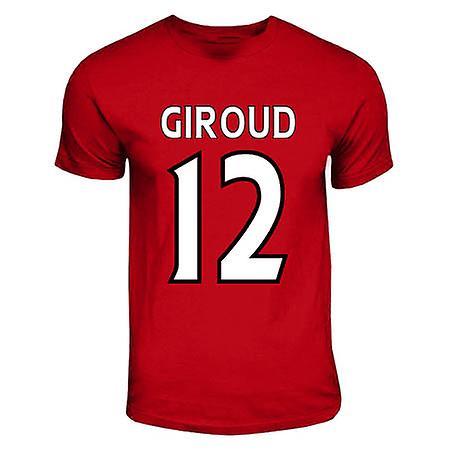 Olivier Giroud Arsenal helten T-shirt (rød)