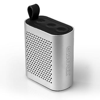 Caseflex Wireless Bluetooth Mini altoparlante - argento