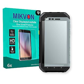 Cat S30 Screen Protector - Mikvon Clear (Retail Package with accessories)