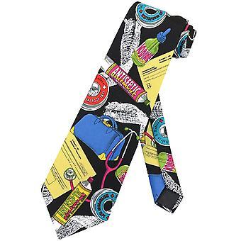 Legen yrke slips medisinsk tema Mens hals Tie