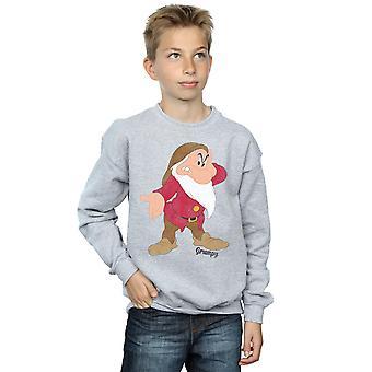 Disney Boys Snow White and the Seven Dwarves Classic Grumpy Sweatshirt