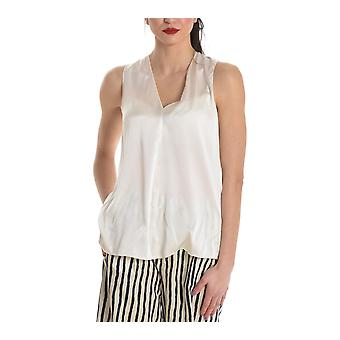 Jucca ladies J2712119L045 white silk top