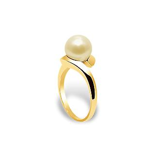 Ring Culture Pearl Gold and yellow gold 375/1000