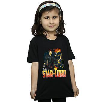 البنات الأعجوبة المنتقمون اللانهاية حرب النجوم الرب حرف تي شيرت