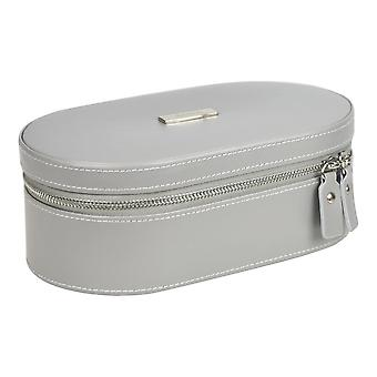 Grey Large Travel Jewellery Box