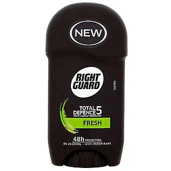 Right Guard Total Defence 5 Fresh Stick