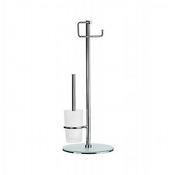 Outline Freestanding Toilet Brush and Holder FK306