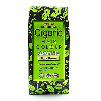 Colour Me Organic, Dark Brown 100g