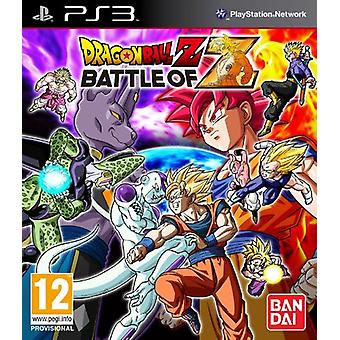 Dragonball Z - slaget Z (PS3)