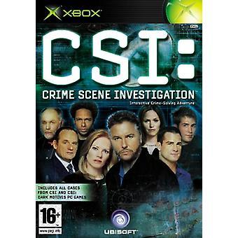 CSI Crime Scene Investigation (Xbox)