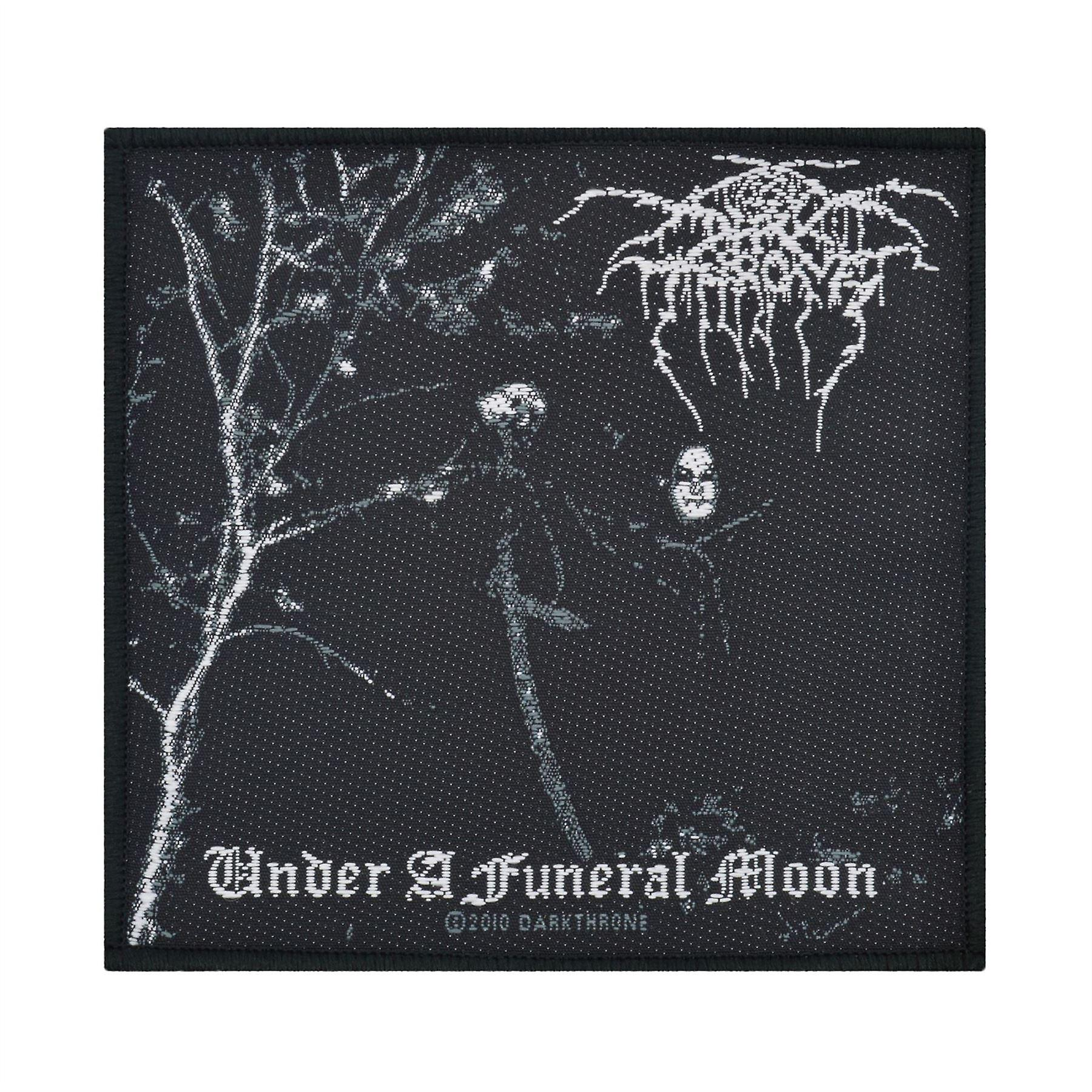 Darkthrone Under A Funeral Moon Woven Patch