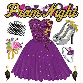 Jolee's Boutique Dimensional Stickers-Prom Night