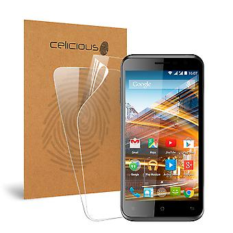 Celicious Vivid Invisible Glossy HD Screen Protector Film Compatible with Archos 50c Neon [Pack of 2]