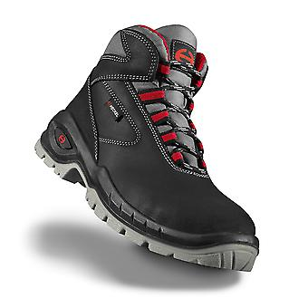 Uvex 6263800 Size 12 Suxxeed S3 Lightweight Safety Boots Black/Grey/Red