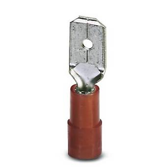 Phoenix Contact 3240058 Blade terminal Connector width: 6.3 mm Connector thickness: 0.8 mm 180 ° Partially insulated Re