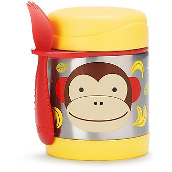 Nikidom Zoo Contenedor Comida Monkey (Childhood , Mealtime , Thermos Flasks and Bags)