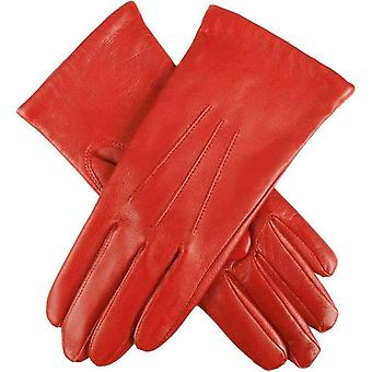 Dents Emma Classic Hairsheep Leather Gloves - Chilli Red