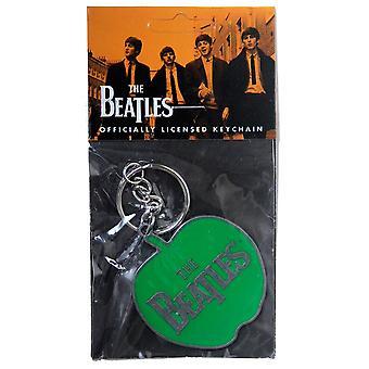 The Beatles Apple Logo Metal Keyring
