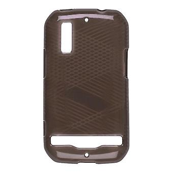 Wireless Solutions Criss Cross Dura-Gel Case for Motorola Photon 4G MB855 - Smok