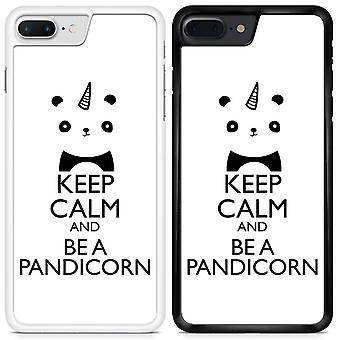 Unicorns KEEP CALM Pandicorn Custom Designed Printed Phone Case For Samsung Galaxy A3 2017 / U03 / White