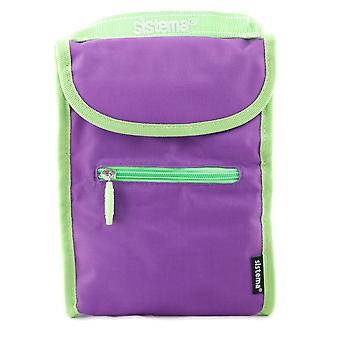 Sistema Fold Up Insulated Lunch Cooler Bag Purple
