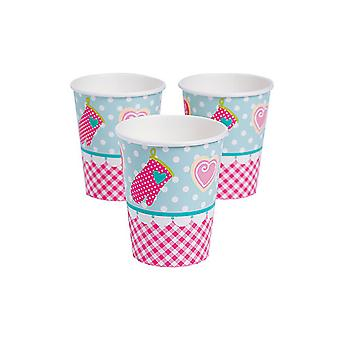 SALE - 8 Cupcake Bakery Paper Party Cups | Kids Party Cups