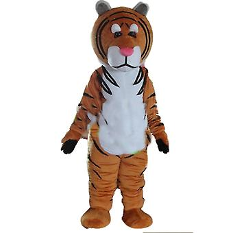 mascot Tiger Brown, white and black SPOTSOUND