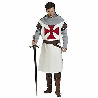 Knights Templar men's costume Knight sword fighter Mr costume