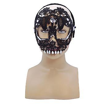 Sugar Skull, schwarz (HB)