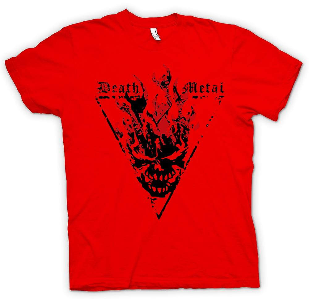 Mens t-shirt - Death Metal - Thrash diavolo gotico