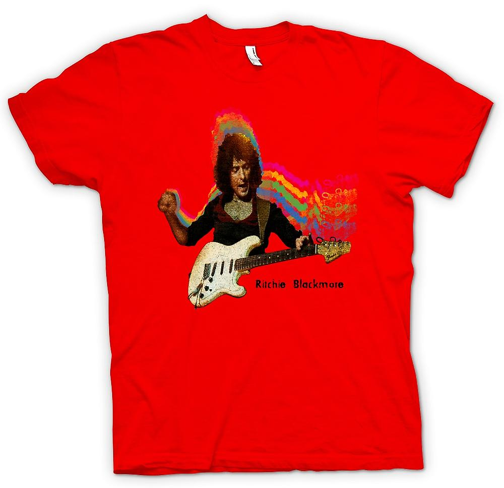 Herren T-Shirt - Richie Blackmore - Guitar Rock Gott