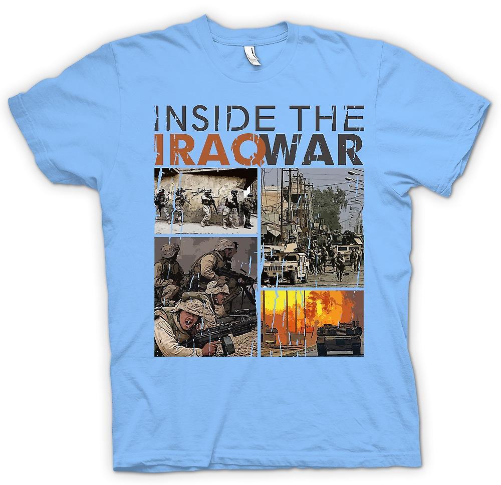 Mens t-skjorte - inne Irak-krigen - militære inspirert