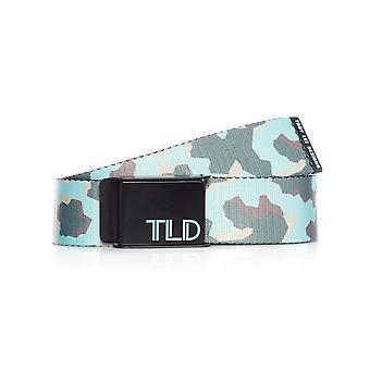 Troy Lee Designs Black-Green Fleet Web Belt