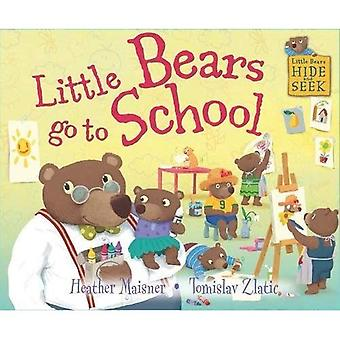 Kleine beren Hide and Seek: kleine beren gaan naar School
