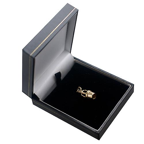 9ct Gold-28x10mm Champaign Eimer Charm