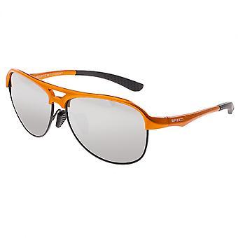 Race Jupiter Aluminium Polarized lunettes de soleil - Orange/argent