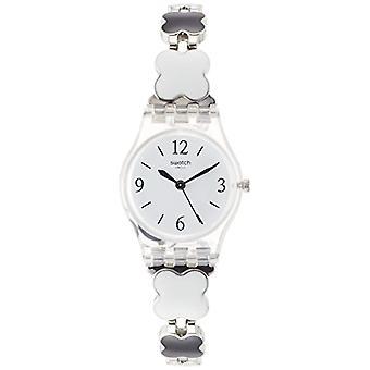 Swatch quartz Digital watch with stainless steel band _ LK367G