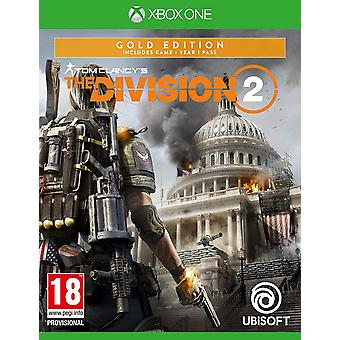 Tom Clancys der Division 2: Gold Edition (Xbox One)
