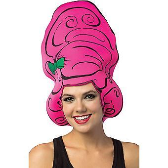 Beehive Pink Wig