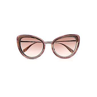 Alexander Mcqueen Pink Plastic Sunglasses