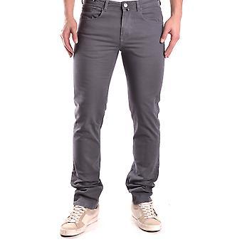 Pt05 Grey Cotton Jeans