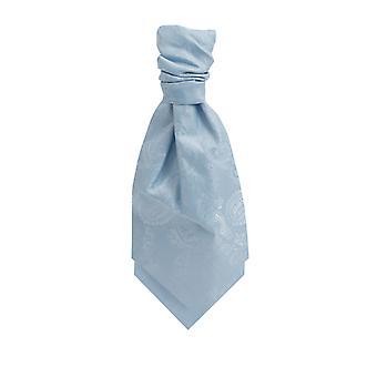Dobell garçons lumière bleue Paisley Cravat
