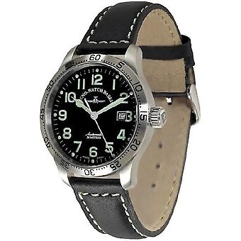 Zeno-watch mens watch of new classic pilot automatic total station 9554T-a1
