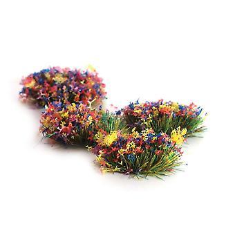 Peco Scene PSG-51 4Mm Self-Adhesive Grass Tufts Flowers